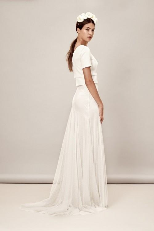 Modern wedding dress for the contemporary bride
