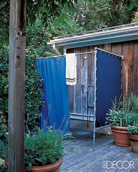 outdoor shower the tiny life diy enclosure for camping