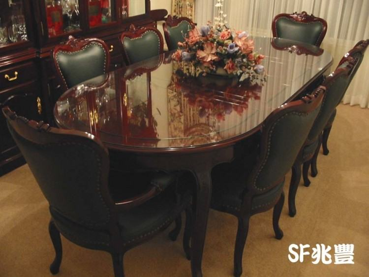 An Italian Louis XVI Mahogany and Rosewood Dining Table No