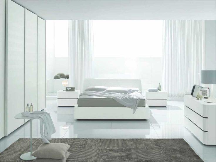 The  bedroom is