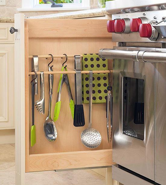 [Kicthen Storage] Hanging Utensil Kitchen Storage