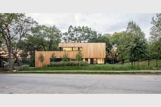 Bespoke housing design for a £1m house