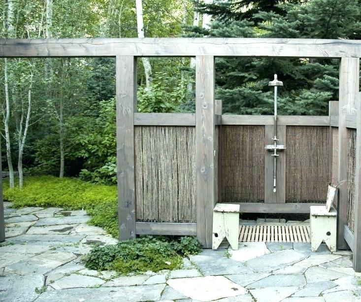 Excellent Design Ideas Of Outdoor Shower Enclosure