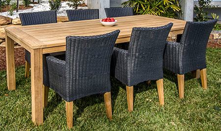 The CANVAS Modena Patio Armchair is comfy your patio lounging