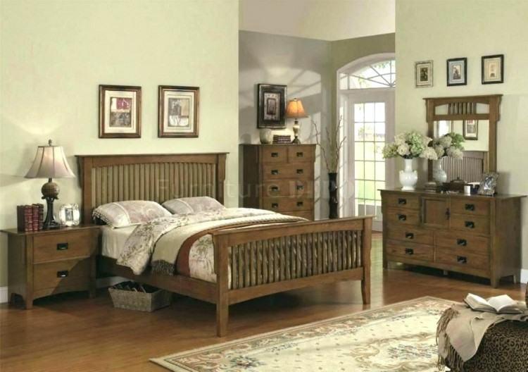 mission bedroom set mission  style