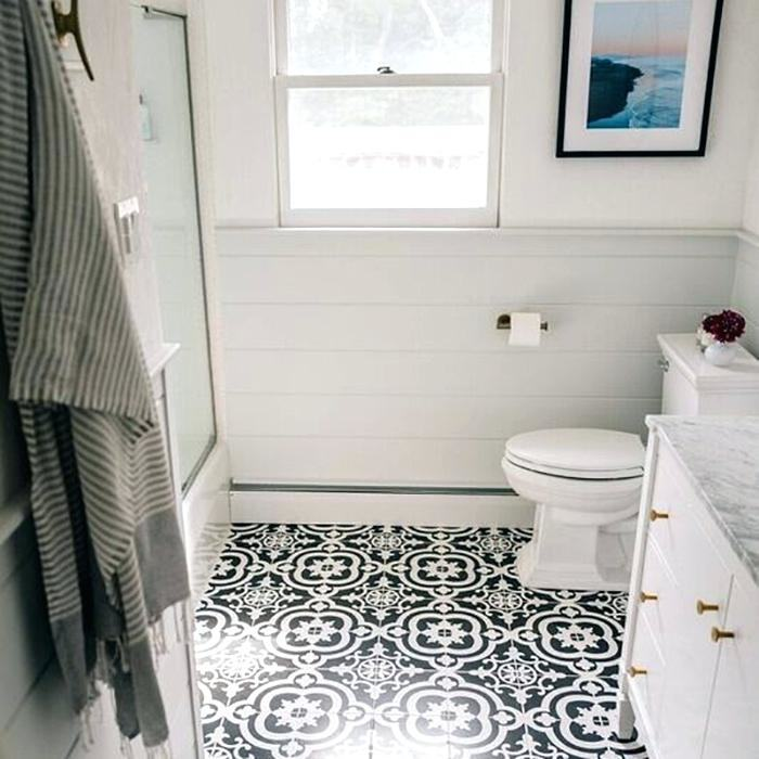 functional ideas for decorating small bathroom in a best possible way floor  tile 2017