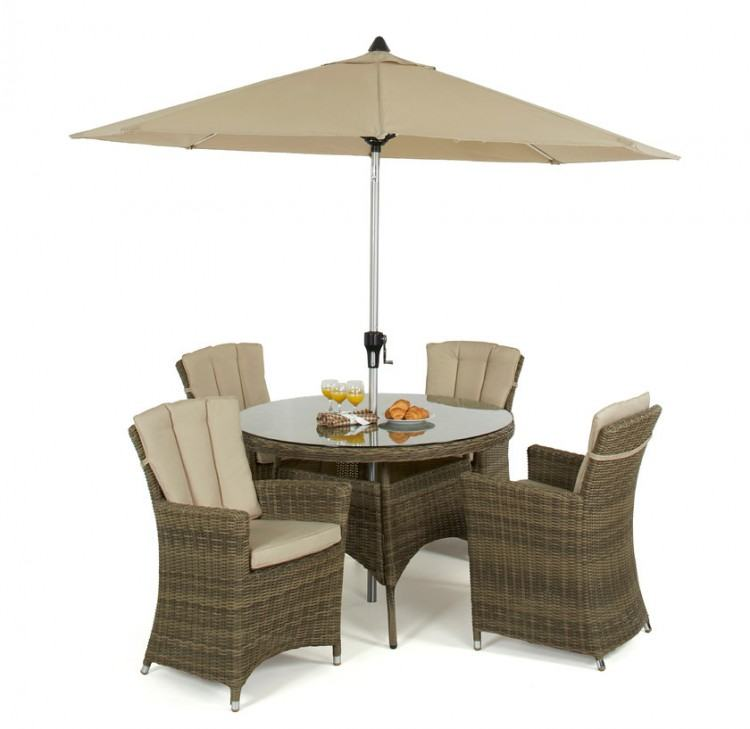Lifestyle Garden Aruba 4 Seat Outdoor Garden Furniture  Dining SetAlternative Image1