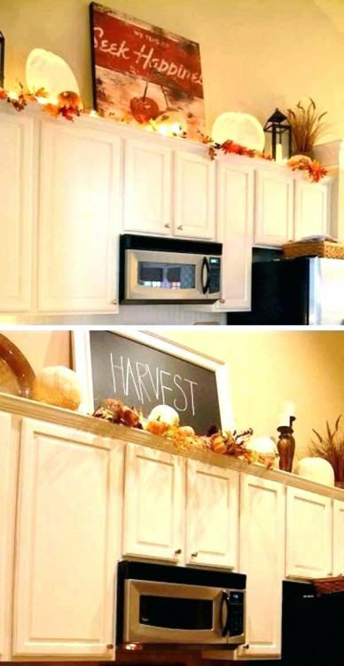 Full Size of Kitchen Decoration:above Kitchen Cabinet Decorative Accents  Should You Decorate Above Kitchen
