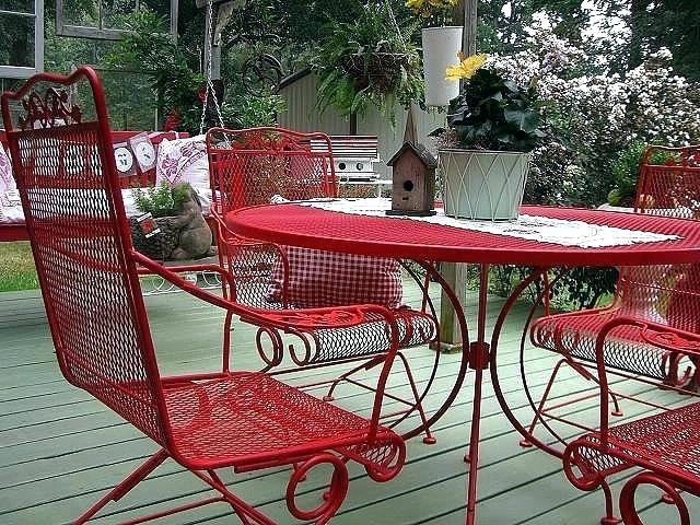 patio furniture spray blogs high quality wrought iron patio furniture  utilizes an pertaining to spray paint