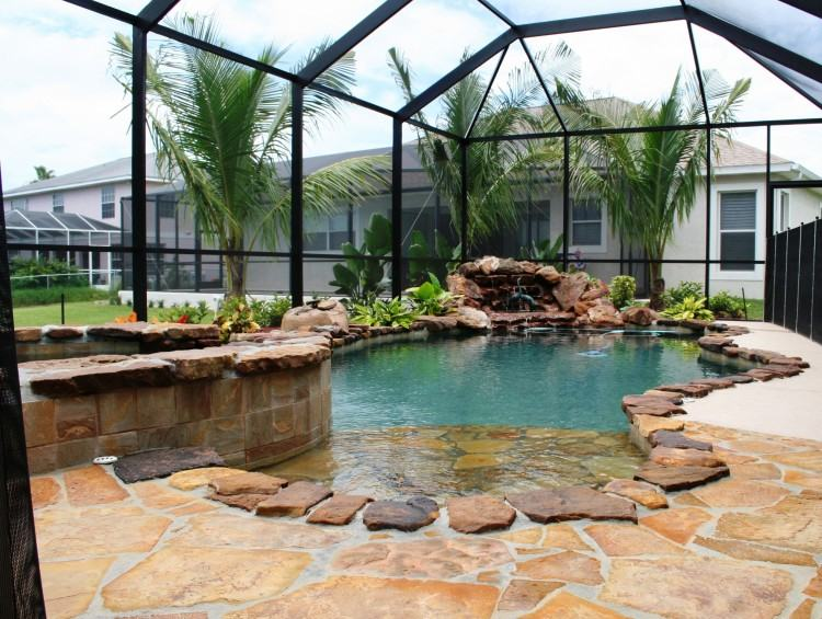 Custom Inground Pool & Spa
