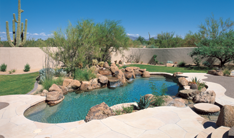 Pool design by Patio Pools and Spas