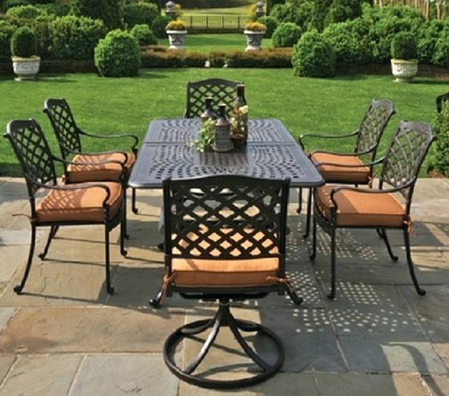 6 person patio table