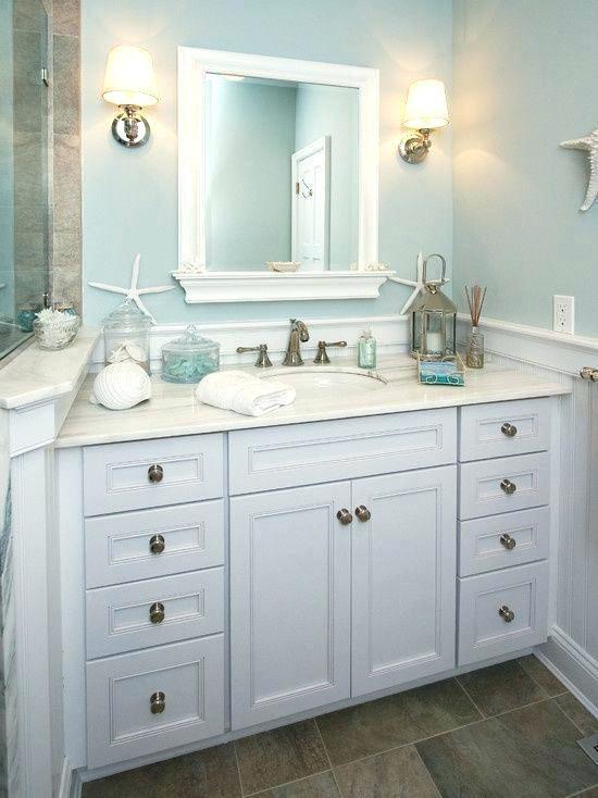 Back To Small  Beach House Bathroom Design Ideas