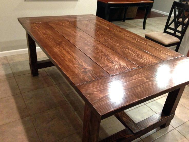 pine dinning room table