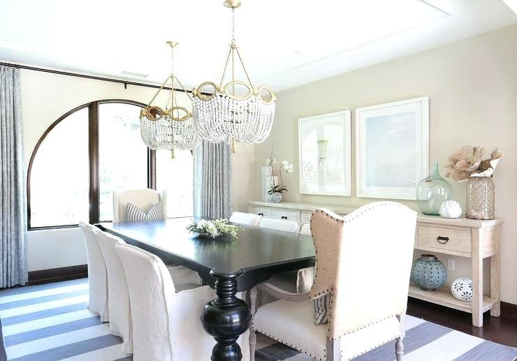 Here's a look at our dining room a four months after moving back into our  home