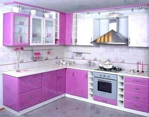 Purple Kitchen Decorating Ideas Unique Charming Purple Kitchen Cabinets  for Contemporary Kitchen Style