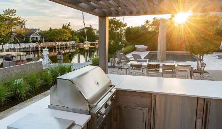 Outdoor Kitchens by Ocean Quest Pools By Lew Akins #001