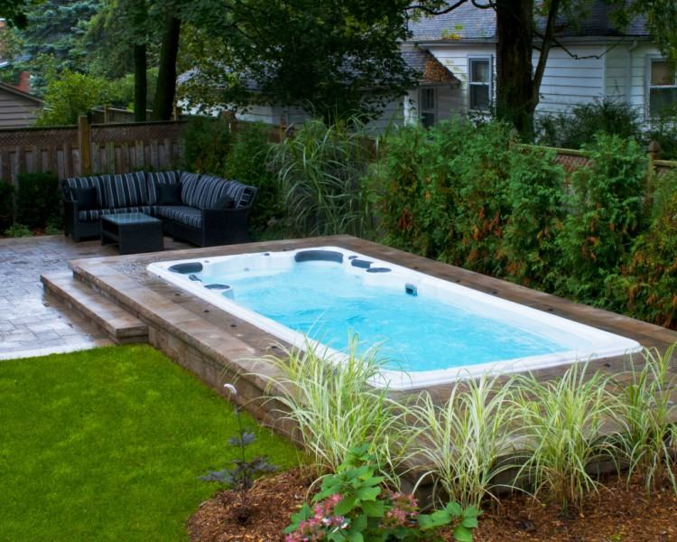 Outdoor Patio And Backyard Medium size Pool Landscape Patio Outdoor Design  Ma Installer Construction Local Installers