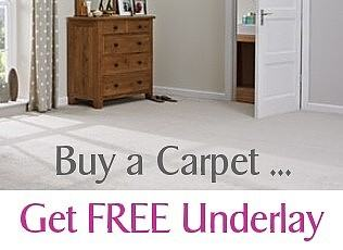 Select the best underlay that you can afford at the time of purchasing your  new carpet