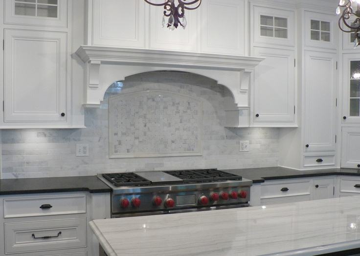 Creative of Marble Kitchen Backsplash Design White Marble Backsplash  Design Ideas Remodel Pictures Houzz
