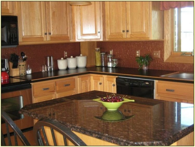 Kitchen Paint Colors For Kitchens With Dark Oak Cabinets Paint Pknmli
