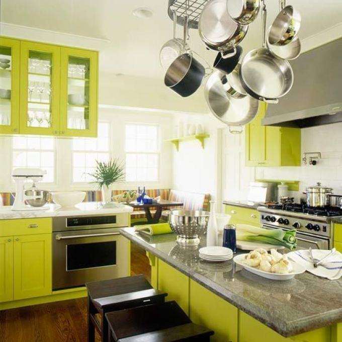 View in gallery Modern kitchen with fancy cabinets