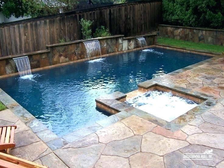 backyard lap pool