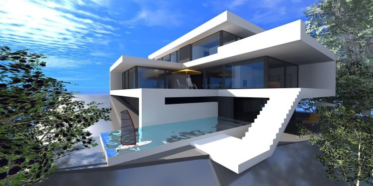 Minecraft Moderne Villa Bauplan Amuda Me Throughout Coole