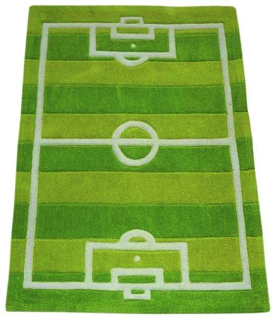 soccer field rug