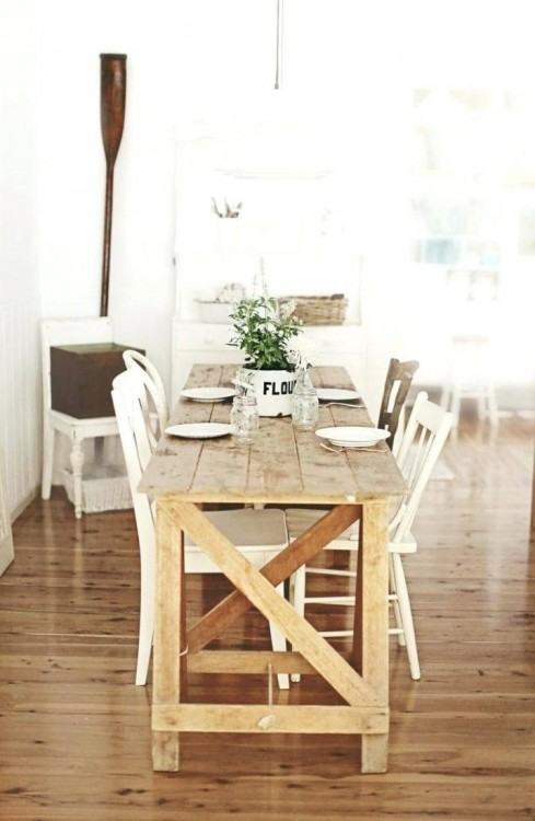 thin dining room tables