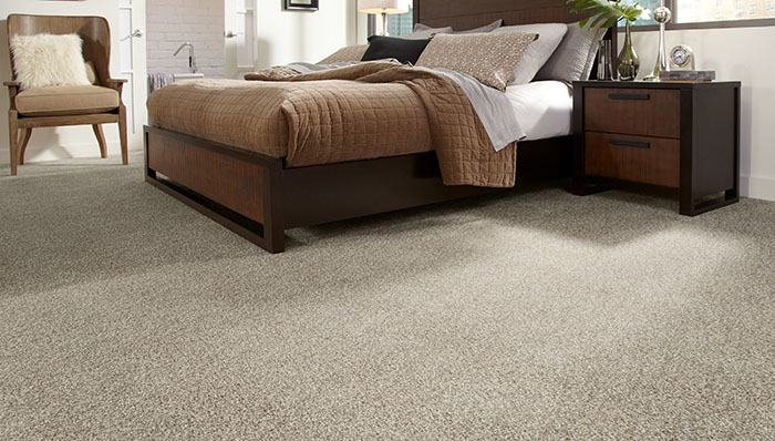 This type of carpet is very durable and track resistant as  well as
