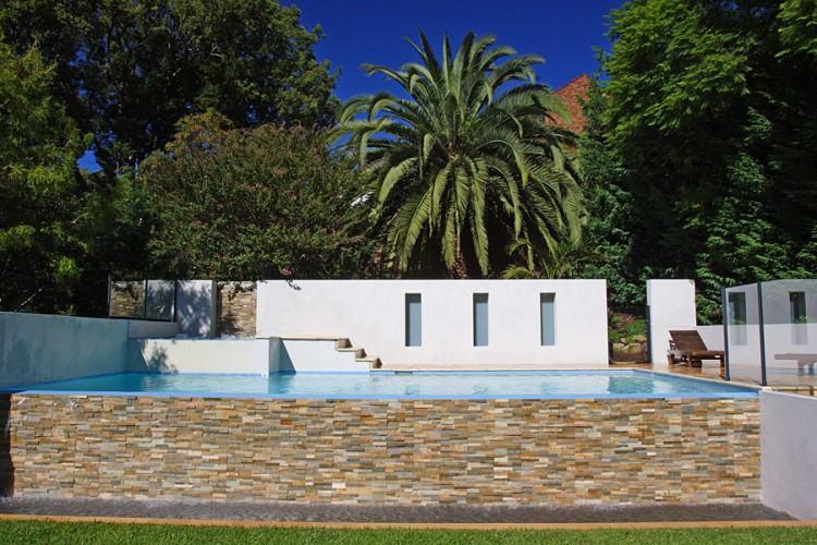 Downes Residence wet edge pool