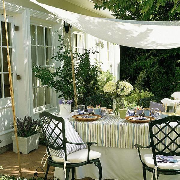 Lithuanian Linen Tablecloth, Block Stripe