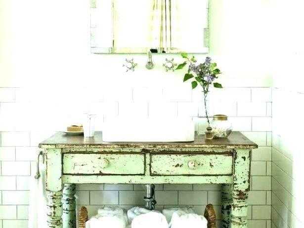 20+ Shabby chic bathroom cabinet ideas