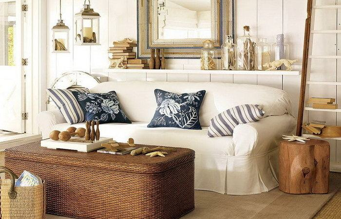house  decoration with mirrors beach decor
