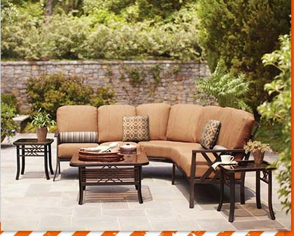 wicker patio replacement cushions