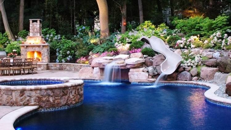 This gallery Free Form swimming pool designs