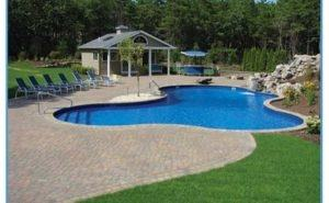 | Awesome Inground Pool Designs |  Backyard, Pool landscaping, Pool designs