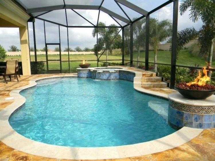 unique swimming pools images enclosed