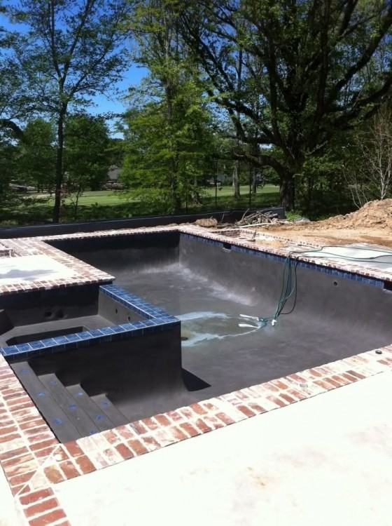 L Shaped Pool With Two Automatic Covers Beach Style Pool throughout L  Shaped Swimming Pool Designs