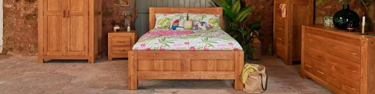 Pine single bed with additional guest bed stored underneath