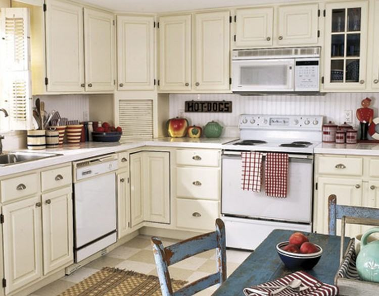 Brown Kitchen Ideas Red And Tan  Green
