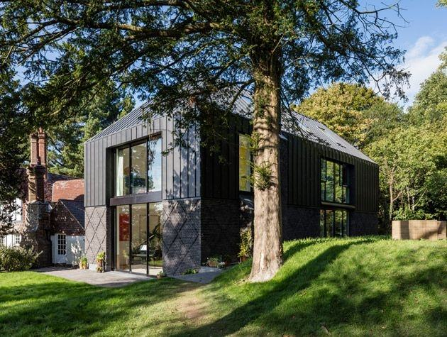 The inside of the house, which will appear on Grand Designs