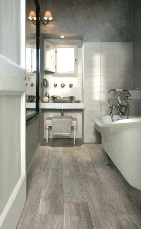 hardwood floors bathroom