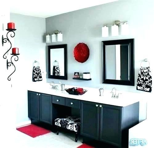 red black gray wall decor red bathroom decor ideas black b on kitchen wall  art stickers