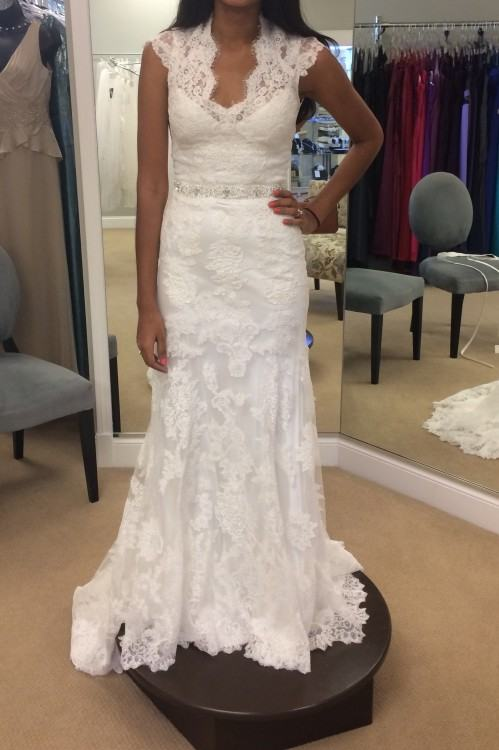 "We think the answer is a definite ""yes""! Your wedding dress"