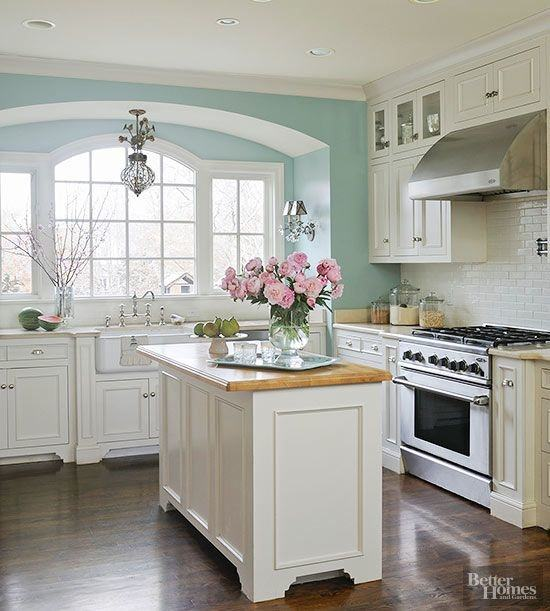 green paint colors for kitchen