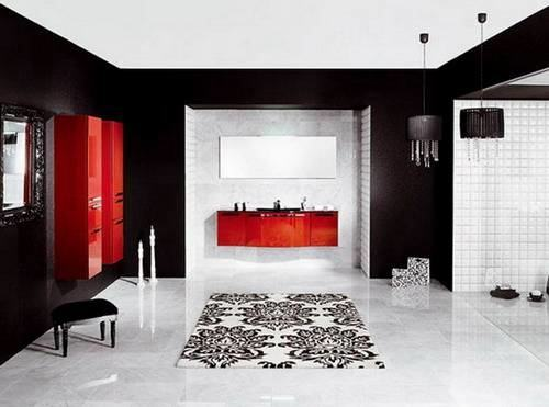 red bathrooms ideas black and red bathroom red and grey bathroom ideas red  black grey and