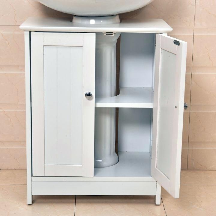 storage for pedestal sink small bath storage pedestal sink towel bar storage  ideas for under a