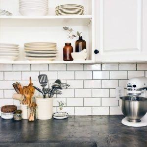 Half Tile Kitchen Backsplash Design Ideas Inside Subway Tile Kitchen  Backsplash Ideas